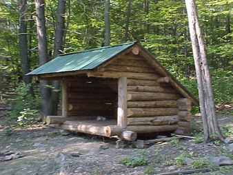 Lean-to @ Ferncliff Forest - Rhinebeck